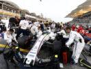 Bahrain International Circuit, Sakhir, Bahrain. Sunday 16 April 2017. Felipe Massa, Williams FW40 Mercedes, on the grid.