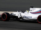 Bahrain International Circuit, Sakhir, Bahrain. Saturday 15 April 2017. Felipe Massa, Williams FW40 Mercedes.