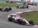 Sergio Perez (MEX) Sahara Force India F1 VJM10. Chinese Grand Prix, Sunday 9th April 2017. Shanghai, China.