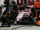 Sergio Perez (MEX) Sahara Force India F1 VJM10 mapi Bahrain Grand Prix, Sunday 17th April 2017. Sakhir, Bahrain.