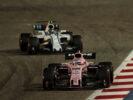 Sergio Perez (MEX) Sahara Force India F1 VJM10. Bahrain Grand Prix, Sunday 17th April 2017. Sakhir, Bahrain.