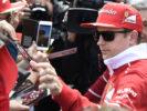 Kimi Raikkonen at Catalunya Ciruit Spanish GP F1/2017