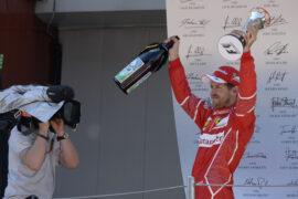 Sebastian Vettel Ferrari Spanish GP F1/2017 F1/2017