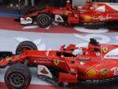 Sebastian Vettel & Kimi Raikkonen RUSSIAN GP F1/2017