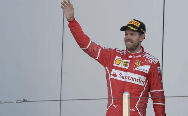 Sebastian Vettel RUSSIAN GP F1/2017