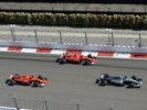 Mercedes Valtteri Bottas & Ferrari Sebastian & Kimi at GP RUSSIA F1/2017