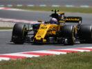 Jolyon Palmer (GBR) Renault Sport F1 Team RS17. Spanish Grand Prix, Friday 12th May 2017. Barcelona, Spain.
