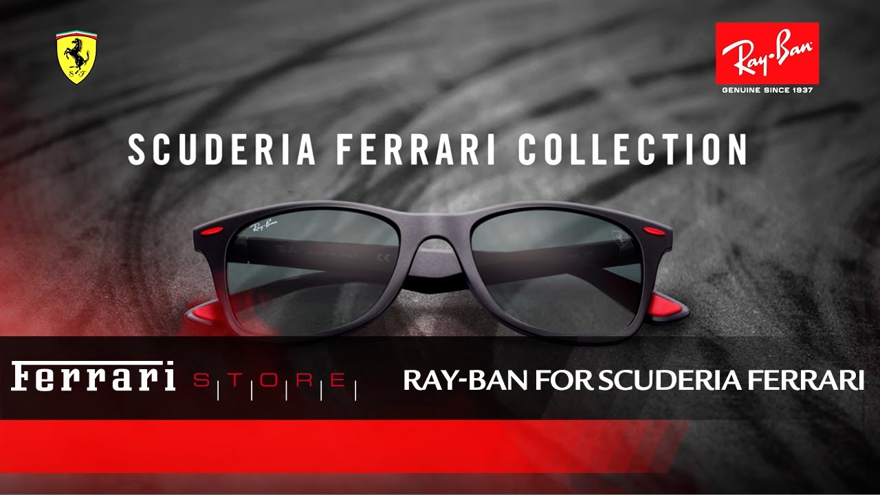 Ray Ban Scuderia Ferrari Collection