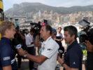 Marcus Ericsson (SWE), Sauber F1 Team. Monaco Street Circuit TV interviews. Monaco GP F1/2017