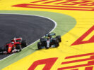 Lewis Hamilton and Sebastian Vettel Spanish GP F1 2017Lewis Hamilton and Sebastian Vettel Spanish GP F1 2017