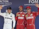 Formula One - Mercedes-AMG Petronas Motorsport, Russian GP 2017. Sebastian Vettel ; Valtteri Bottas;Kimi Raikkonen