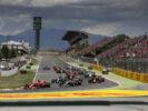 Drivers on track at Spanish GP F1/2017 Catalunya.