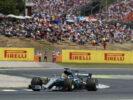 Lewis Hamilton Mercedes W08 on track Spanish GP F1/2017
