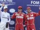 Formula One - Mercedes-AMG Petronas Motorsport, Monaco GP 2017 Qualification . Kimi Raikkonen, Valtteri Bottas, Sebastian Vettel