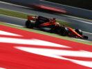 Fernando Alonso on track Circuit de Catalunya, Barcelona, Spain. Saturday 13 May 2017.