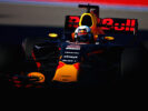 Daniel Ricciardo of Australia driving the (3) Red Bull Racing Red Bull-TAG Heuer RB13 TAG Heuer on track during practice for the Formula One Grand Prix of Russia on April 28, 2017 in Sochi, Russia.