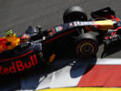 Max Verstappen of the Netherlands driving the (33) Red Bull Racing Red Bull-TAG Heuer RB13 TAG Heuer on track during practice for the Formula One Grand Prix of Russia on April 28, 2017 in Sochi, Russia.