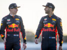 Daniel Ricciardo - Max Verstappen of Red Bull Racing pose for a photo during previews to the Formula One Grand Prix of Russia on April 27, 2017 in Sochi, Russia.