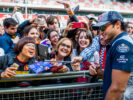 Carlos Sainz of Scuderia Toro Rosso and Spain during previews to the Spanish Formula One Grand Prix at Circuit de Catalunya on May 11, 2017 in Montmelo, Spain.