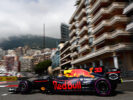 Max Verstappen of the Netherlands driving the (33) Red Bull Racing Red Bull-TAG Heuer RB13 TAG Heuer on track during practice for the Monaco Formula One Grand Prix at Circuit de Monaco on May 25, 2017 in Monte-Carlo, Monaco.