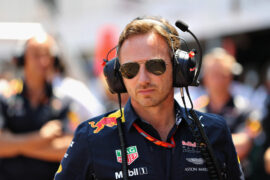 Red Bull Racing Team Principal Christian Horner during the Monaco Formula One Grand Prix at Circuit de Monaco on May 28, 2017 in Monte-Carlo, Monaco.