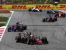 Teammates on track at Circuit de Catalunya, Barcelona, Spain. Sunday 14 May 2017.