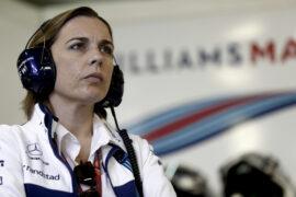 Sochi Autodrom, Sochi, Russia. Saturday 29 April 2017. Claire Williams, Deputy Team Principal, Williams Martini Racing.