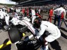 Sochi Autodrom, Sochi, Russia. Sunday 30 April 2017. Felipe Massa, Williams FW40 Mercedes, arrives on the grid.