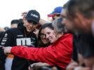 Esteban Ocon (FRA) Sahara Force India F1 Team with fans. Spanish Grand Prix, Thursday 11th May 2017. Barcelona, Spain.
