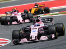 Sergio Perez (MEX) Sahara Force India F1 VJM10. Spanish Grand Prix, Sunday 14th May 2017. Barcelona, Spain.