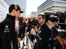Esteban Ocon (FRA) Sahara Force India F1 Team with the media. Russian Grand Prix, Thursday 27th April 2017. Sochi Autodrom, Sochi, Russia.