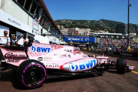 Sergio Perez (MEX) Sahara Force India F1 VJM10. Monaco Grand Prix, Saturday 27th May 2017. Monte Carlo, Monaco.