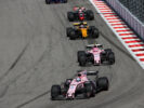 Sergio Perez (MEX) Sahara Force India F1 VJM10. Russian Grand Prix, Sunday 30th April 2017. Sochi Autodrom, Sochi, Russia.