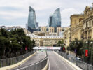 Baku City Circuit, Baku, Azerbaijan. Thursday 22 June 2017. A view of the circuit.