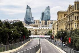 Baku City Circuit, Baku, Azerbaijan. Thursday 22 June 2017. A view of the circuit.