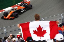 Circuit Gilles Villeneuve, Montreal, Canada. Friday 09 June 2017. Fernando Alonso McLaren