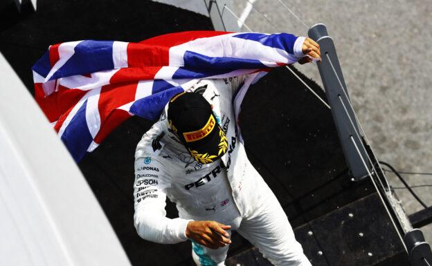 Lewis Hamilton Mercedes winner at Circuit Gilles Villeneuve, Montreal, Canada. Sunday 11 June 2017.