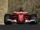 Sebastian Vettel Ferrari GP ARZEBAIJAN F1/2017