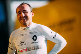 Robert Kubica Private Test Day. Valencia, Spain. 6th June 2017