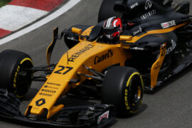 Nico Hulkenberg (GER) Renault Sport F1 Team RS17. Canadian Grand Prix, Friday 9th June 2017. Montreal, Canada.