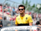 Jolyon Palmer (GBR) Renault Sport F1 Team on the drivers parade. Canadian Grand Prix, Sunday 11th June 2017. Montreal, Canada.