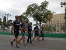 Marcus Ericsson (SWE), Sauber F1 Team. Baku City Circuit track walk. Azerbaijan GP F1/2017