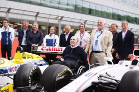 25th Anniversary of Damon Hill's 1996 World Championship with Williams