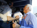 In the pitlane - Lawrence Stroll does it again