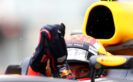 Max Verstappen of Netherlands and Red Bull Racing returns to the garage during practice for the Canadian Formula One Grand Prix at Circuit Gilles Villeneuve on June 9, 2017 in Montreal, Canada.