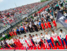 Drivers during the Canadian Formula One Grand Prix at Circuit Gilles Villeneuve on June 11, 2017 in Montreal, Canada.