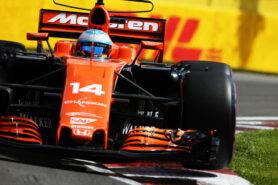 Circuit Gilles Villeneuve, Montreal, Canada. Friday 9 June 2017. Fernando Alonso, McLaren MCL32 Honda.