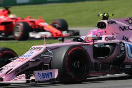 Esteban Ocon (FRA) Sahara Force India F1 VJM10. Canadian Grand Prix, Sunday 11th June 2017. Montreal, Canada.