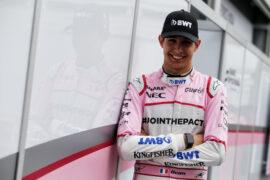 Esteban Ocon (FRA) Sahara Force India F1 Team. Azerbaijan Grand Prix, Thursday 22nd June 2017. Baku City Circuit, Azerbaijan.