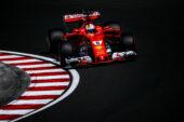 Sebastian Vettel, Ferrari SF70H at Hungary